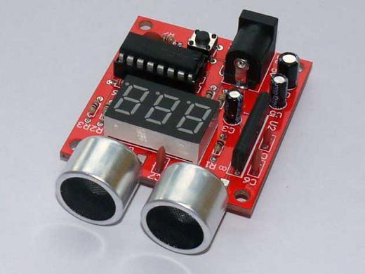 超声波测距仪制作套件